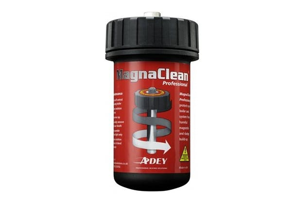free magnaclean filter with a powerflush